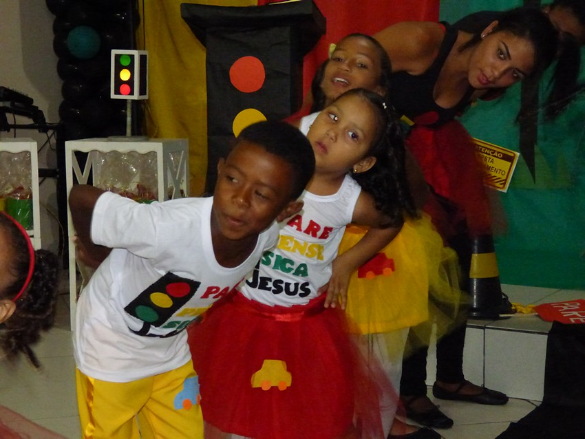 Congresso de crianças na Congregação do Goia