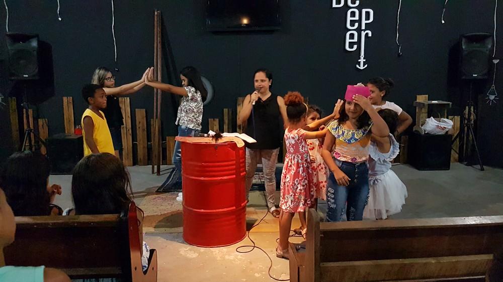 Culto de Pré-adolescentes e Crianças